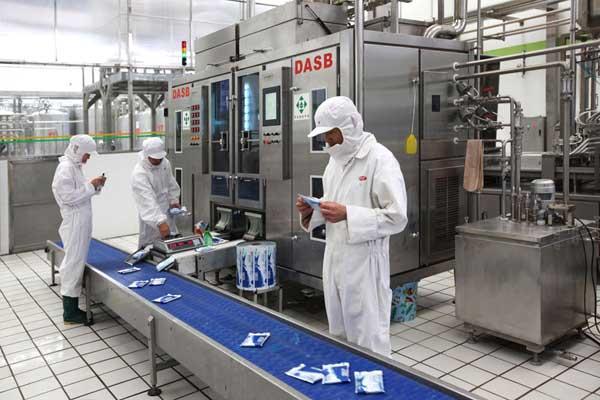 风淋室广泛应用于乳制品行业