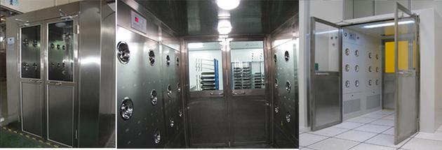 手动双开门货淋室工程应用案例