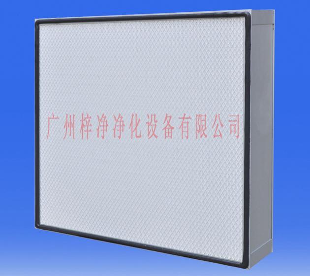 ZJ-FFU-610型标准FFU配套610*160*69无隔板高效过滤器图片