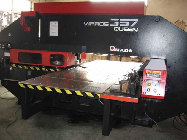 FFU空气净化设备采用进口AMADA数控冲床