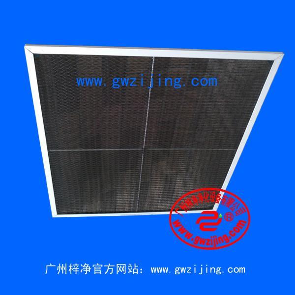 尼龙网初效过滤器主要适用于空调与通风系统预过滤洁净室回风过滤局部高效过滤装置的预过滤用于过滤5um 及以上粒径的尘埃粒子。
