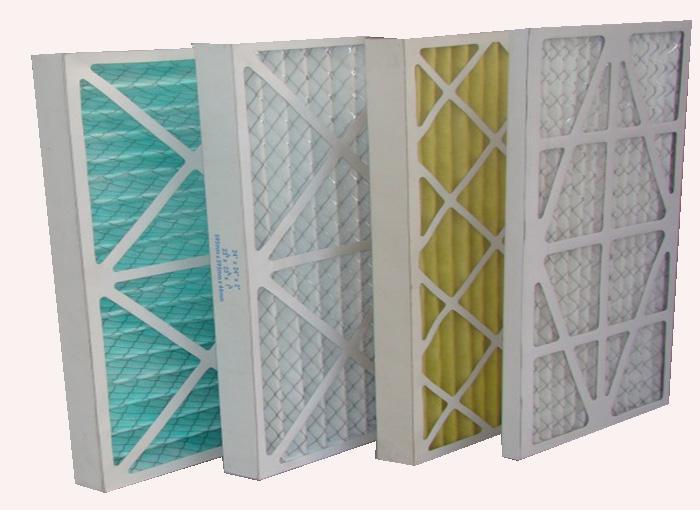 初效空气过滤器(又称初效过滤器或者粗效空气过滤器)主要应用在洁净室的初级过滤段