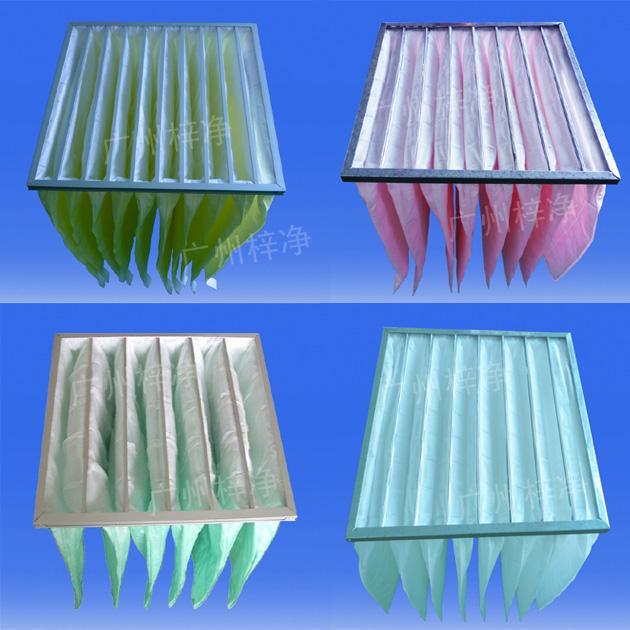 组合式空调袋式中效过滤器主要用于空气净化处理段