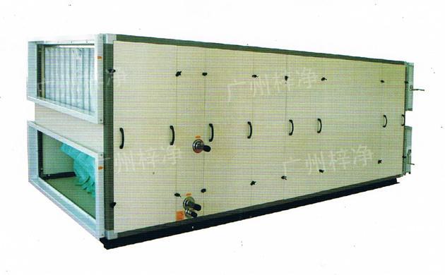 组合式空调机组能进行空气运行制冷、干燥、加热、加湿、混合、过滤净化、消声、输送等处理过程