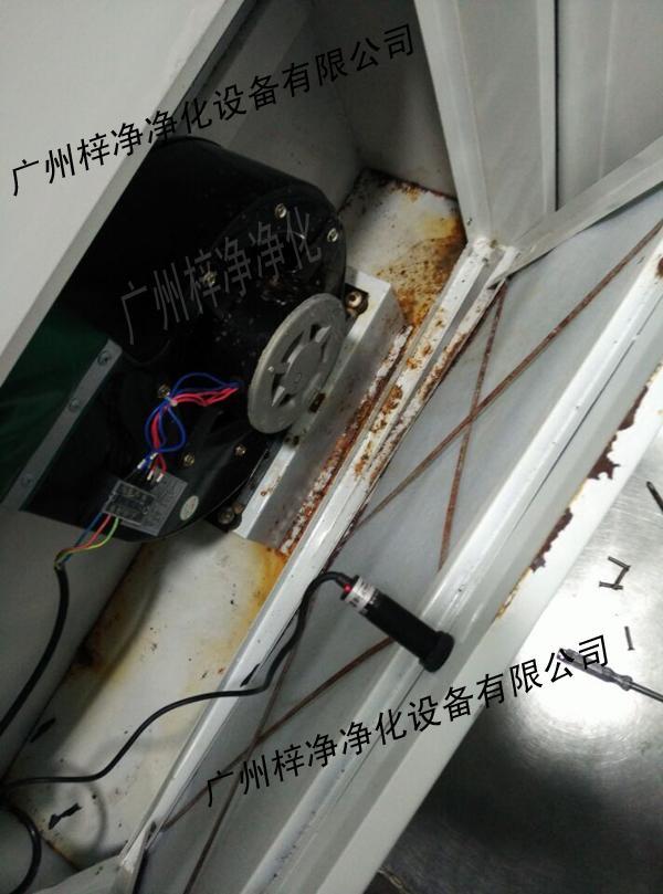 腐蚀环境下的风淋室检修口3