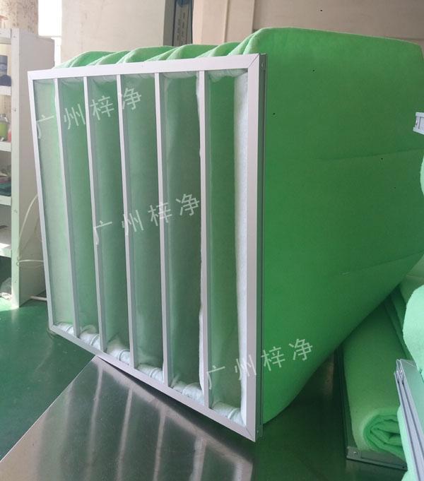 中央空调袋式初效过滤器